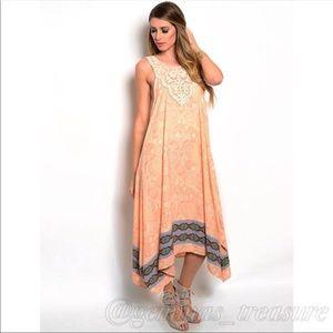 Dresses & Skirts - Stunning Trapeze Maxi dress || M, L
